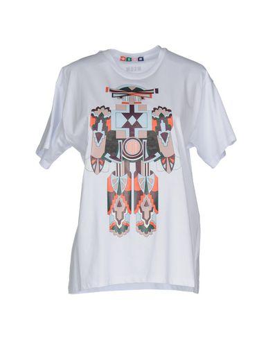 Купить Женскую футболку MSGM белого цвета