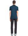 LANVIN Polos & T-Shirts Man STRIPPED MERCERIZED POLO SHIRT f