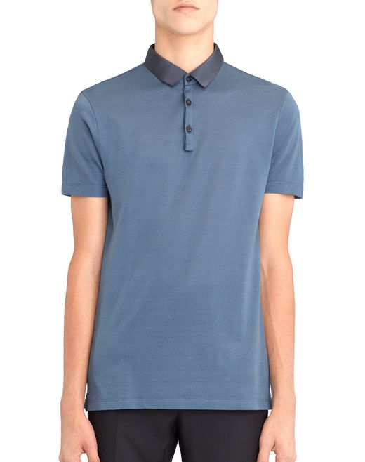 POLO SLIM-FIT IN PIQUET - Lanvin