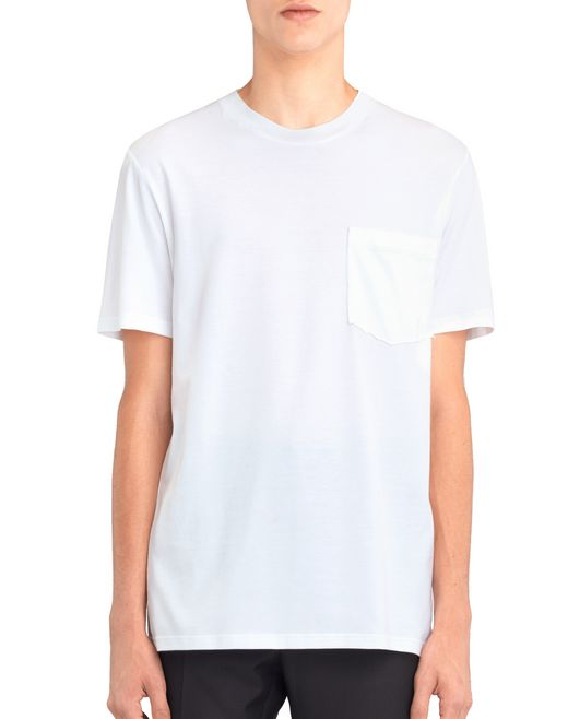 "lanvin mercerized ""l"" t-shirt men"