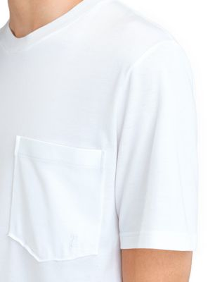 "LANVIN MERCERIZED ""L"" T-SHIRT Polos & T-Shirts U a"