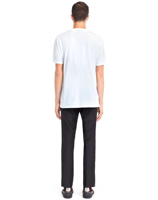 "LANVIN MERCERIZED ""L"" T-SHIRT Polos & T-Shirts U d"