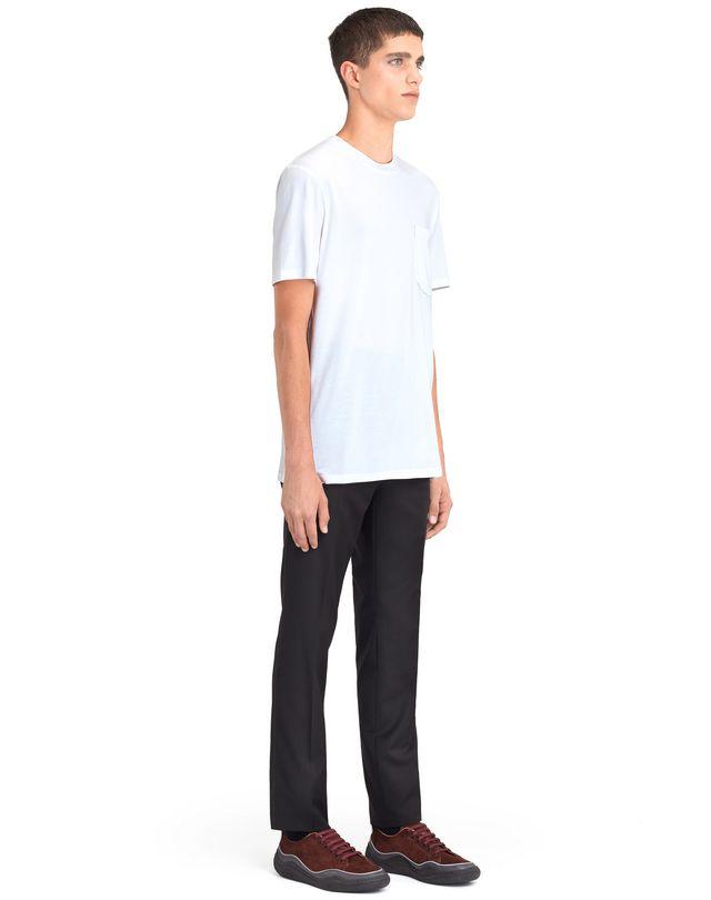 """LANVIN MERCERIZED """"L"""" T-SHIRT Polos & T-Shirts U e"""