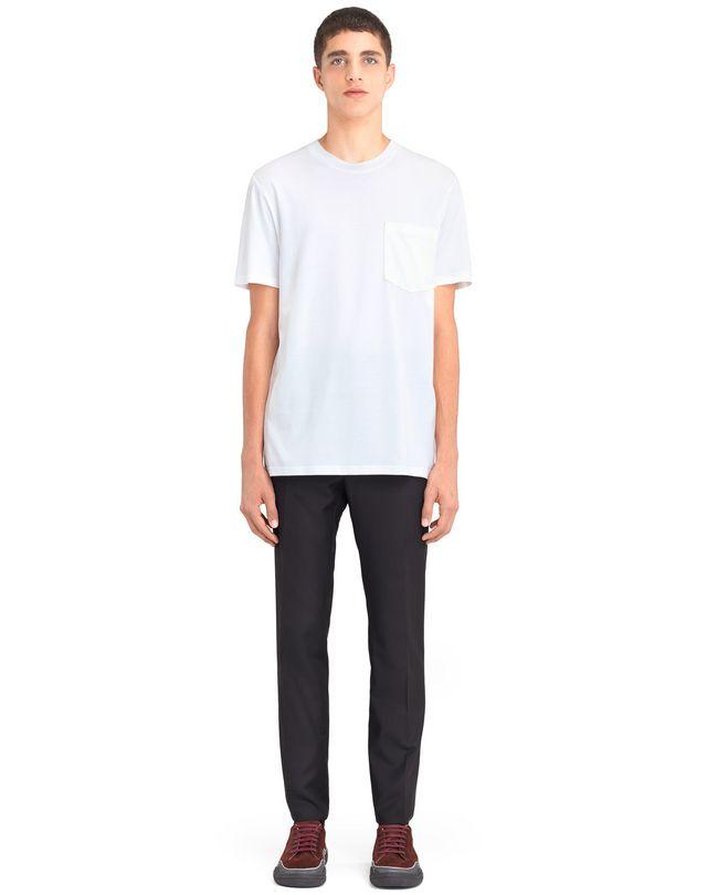 "LANVIN MERCERIZED ""L"" T-SHIRT Polos & T-Shirts U r"