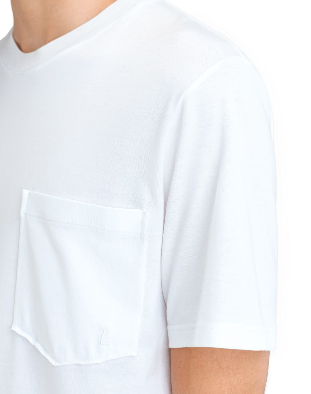 "MERCERIZED ""L"" T-SHIRT - Lanvin"