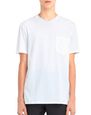 "LANVIN Polos & T-Shirts Man MERCERIZED ""L"" T-SHIRT f"