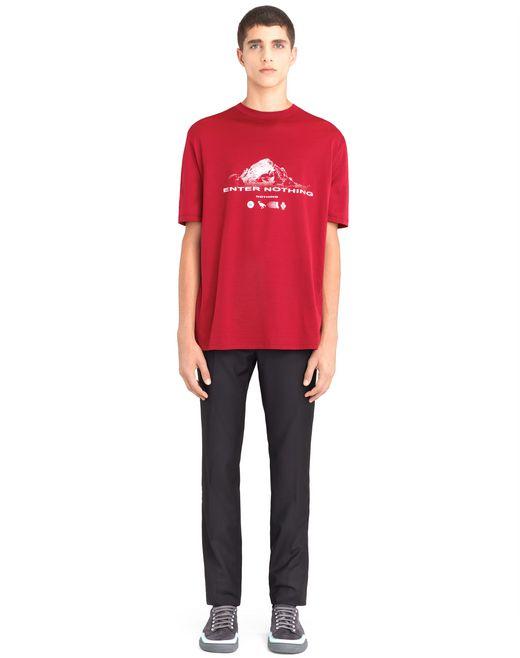 "lanvin ""mountain"" t-shirt men"