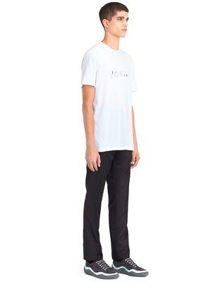 "LANVIN WHITE ""LANVIN"" T-SHIRT Polos & T-Shirts U e"