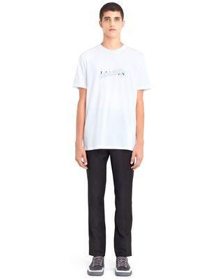 """LANVIN WHITE """"LANVIN"""" T-SHIRT Polos & T-Shirts U r"""