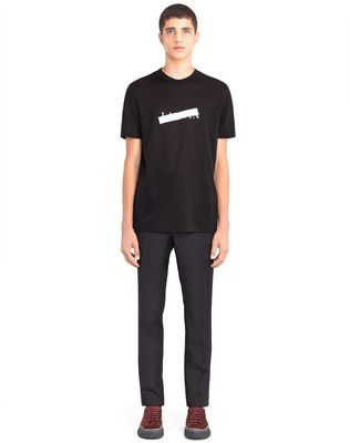 "BLACK ""LANVIN"" T-SHIRT"