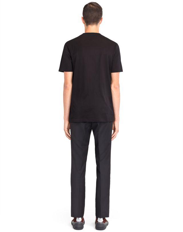 "LANVIN BLACK ""LANVIN"" T-SHIRT Polos & T-Shirts U d"