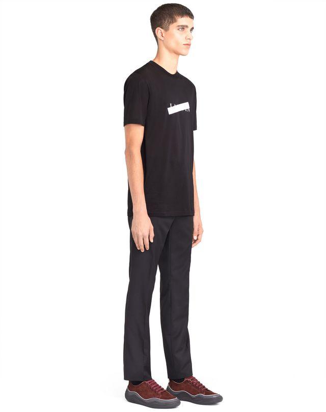 """LANVIN BLACK """"LANVIN"""" T-SHIRT Polos & T-Shirts U e"""