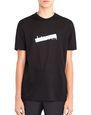"LANVIN Polos & T-Shirts Man BLACK ""LANVIN"" T-SHIRT f"