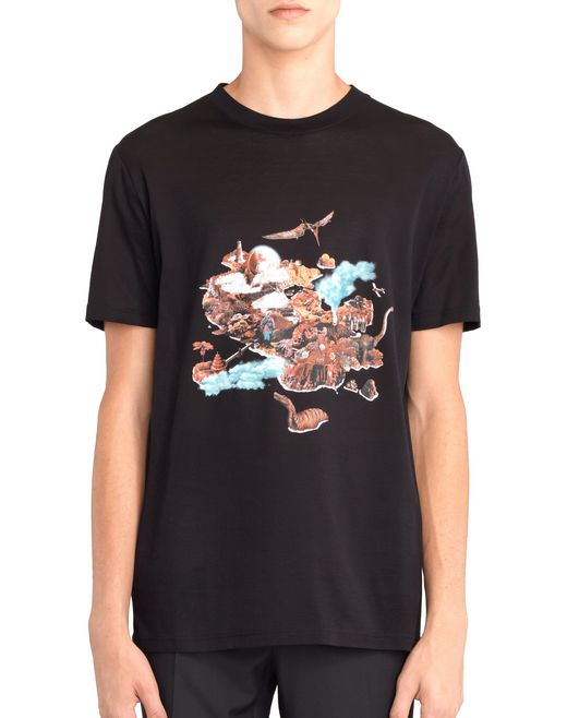 "lanvin ""the island"" t-shirt men"