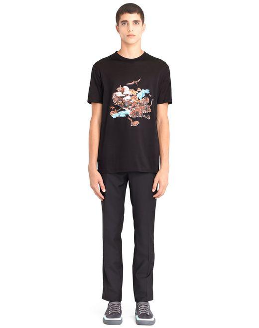 "lanvin ""the island"" t-shirt men"