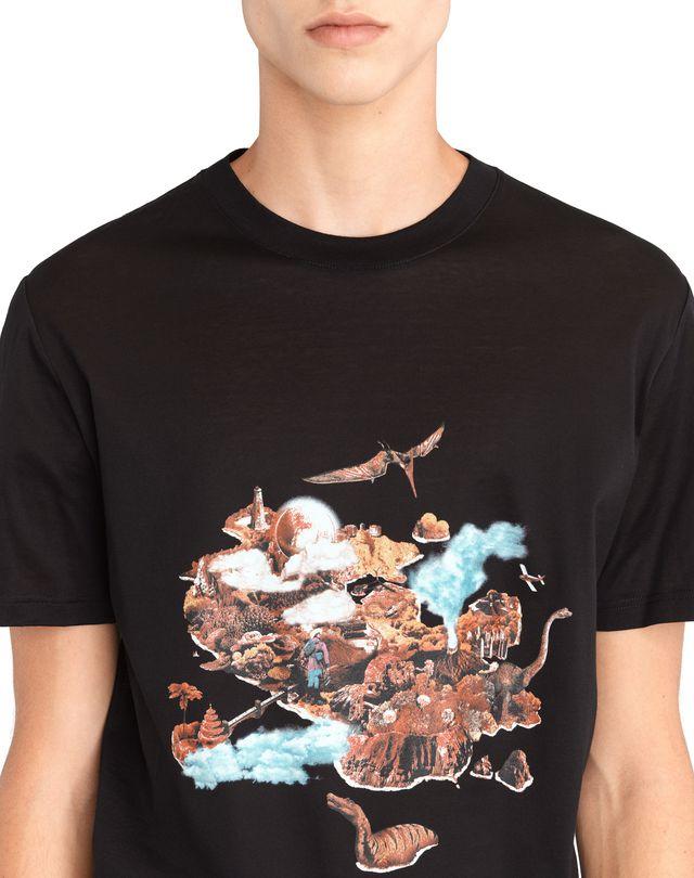 "LANVIN ""THE ISLAND"" T-SHIRT Polos & T-Shirts U a"