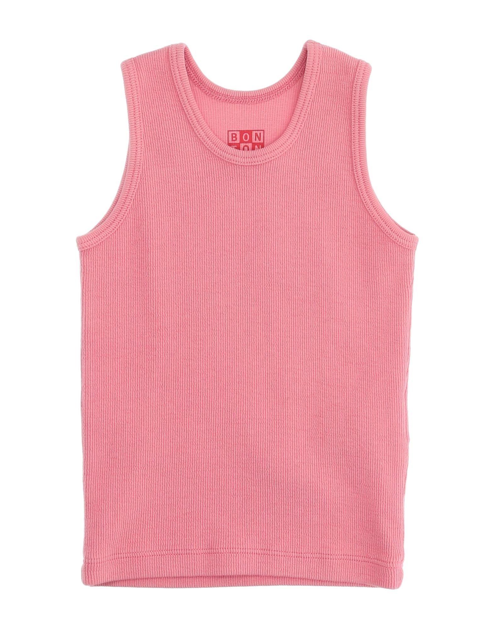 Bonton Kids' T-shirts In Pink