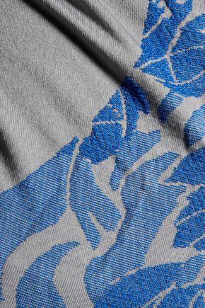 ADIDAS by STELLA McCARTNEY Intarsia-knit stretch-jersey tank