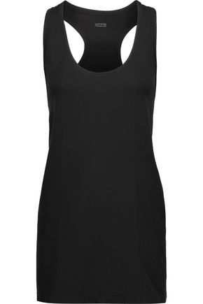 YUMMIE by HEATHER THOMSON® Leila mesh-paneled  stretch-jersey tank