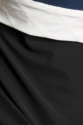 NO KA 'OI Moku color-block layered stretch top