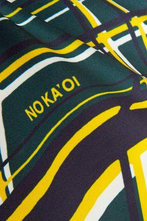 NO KA 'OI Mala printed stretch top