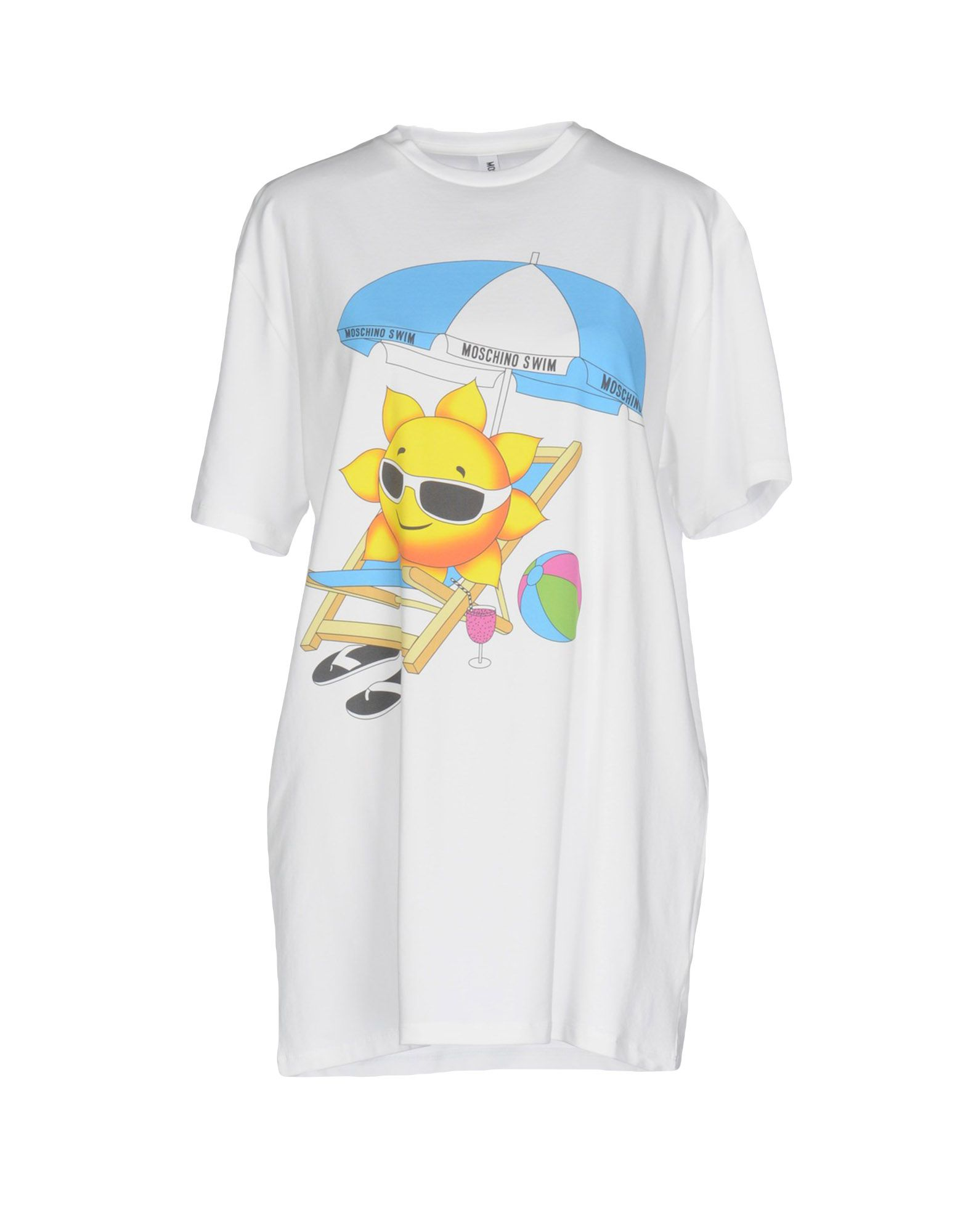 MOSCHINO SWIM Футболка moschino swim футболка