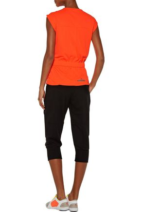 ADIDAS by STELLA McCARTNEY Printed stretch-jersey top