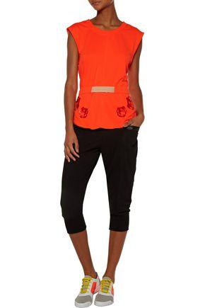 ADIDAS by STELLA McCARTNEY Printed stretch-jersey top