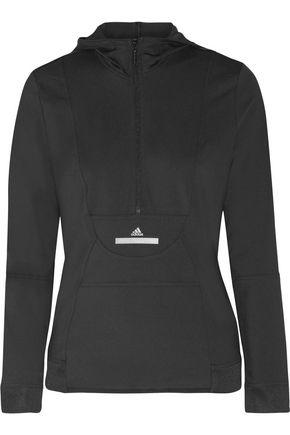 ADIDAS by STELLA McCARTNEY Climalite stretch hooded top