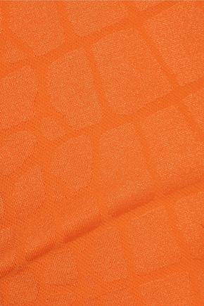 YUMMIE by HEATHER THOMSON Daria stretch jacquard-knit tank