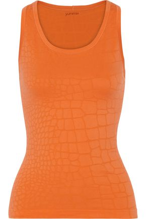 YUMMIE by HEATHER THOMSON Daria stretch jacquard-knit tank