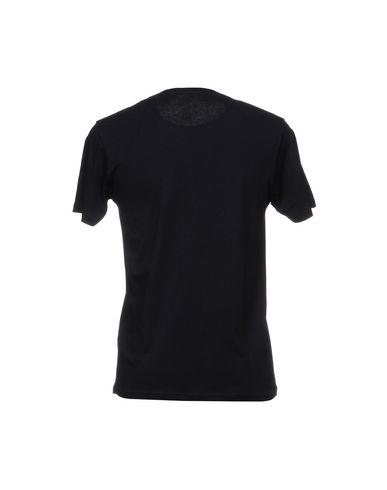 Фото 2 - Женскую футболку OUTFIT темно-синего цвета