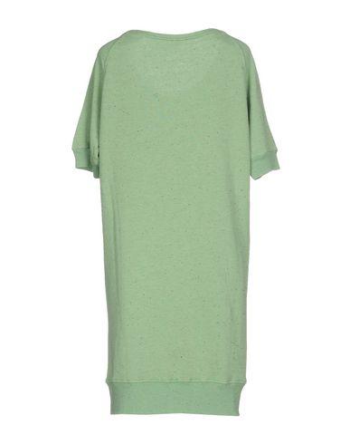 Фото 2 - Женское короткое платье JIJIL зеленого цвета