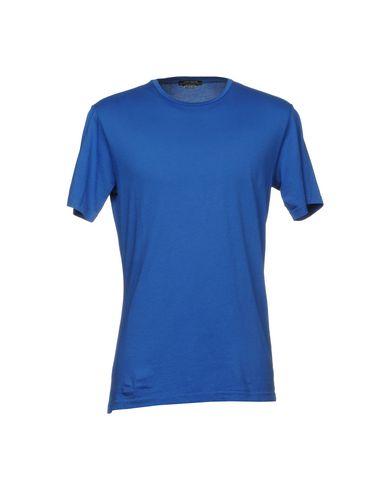 Фото - Женскую футболку DANIELE ALESSANDRINI HOMME лазурного цвета