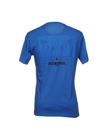Фото 2 - Женскую футболку DANIELE ALESSANDRINI HOMME лазурного цвета