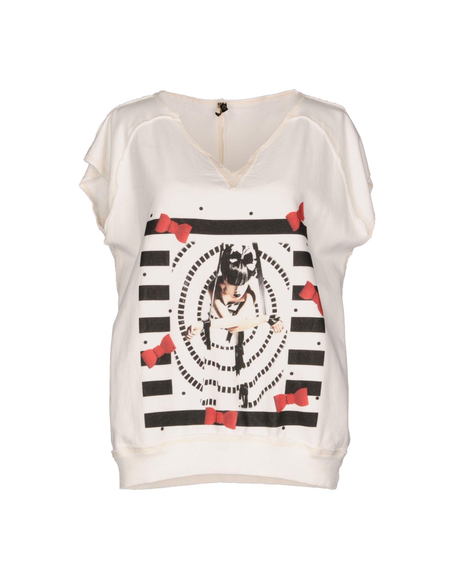 《送料無料》DIMORA レディース スウェットシャツ ホワイト L コットン 100%