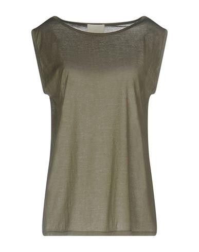 Купить Женскую футболку GOTHA цвет зеленый-милитари