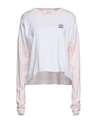 Фото - Женскую футболку CIRCUS HOTEL светло-розового цвета