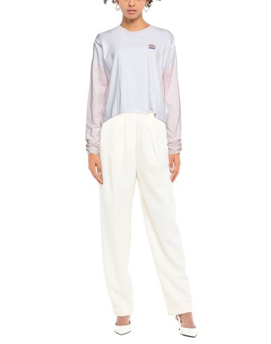 Фото 2 - Женскую футболку CIRCUS HOTEL светло-розового цвета