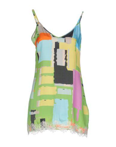 Фото - Женское короткое платье PINK MEMORIES кислотно-зеленого цвета