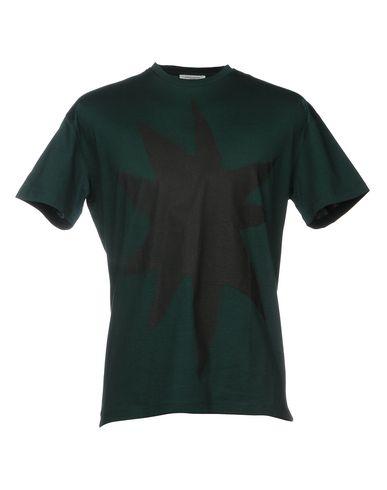 Фото - Женскую футболку PAOLO PECORA темно-зеленого цвета