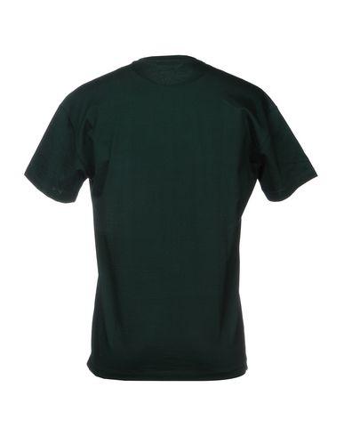 Фото 2 - Женскую футболку PAOLO PECORA темно-зеленого цвета