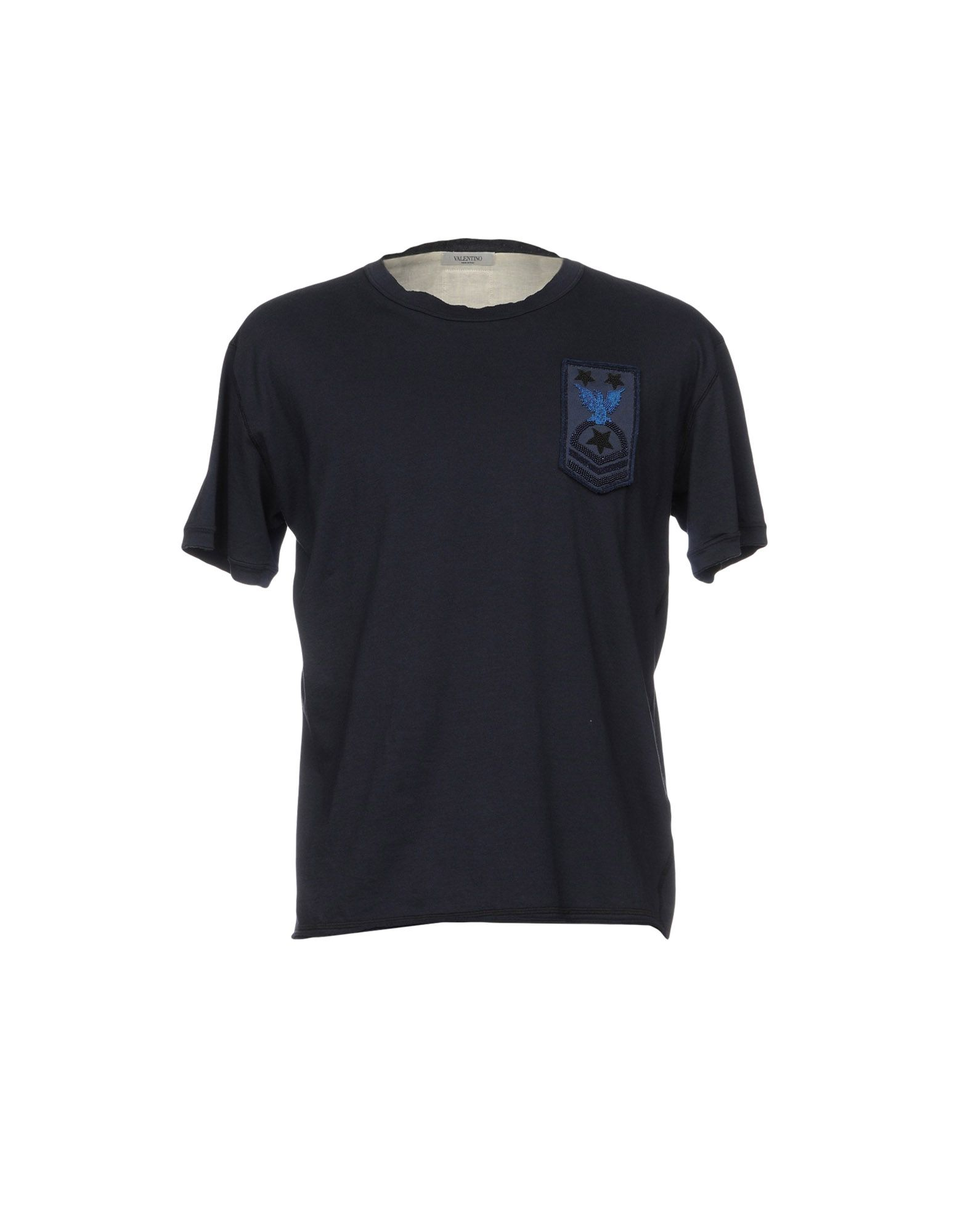 《送料無料》VALENTINO メンズ T シャツ ダークブルー M コットン 100%