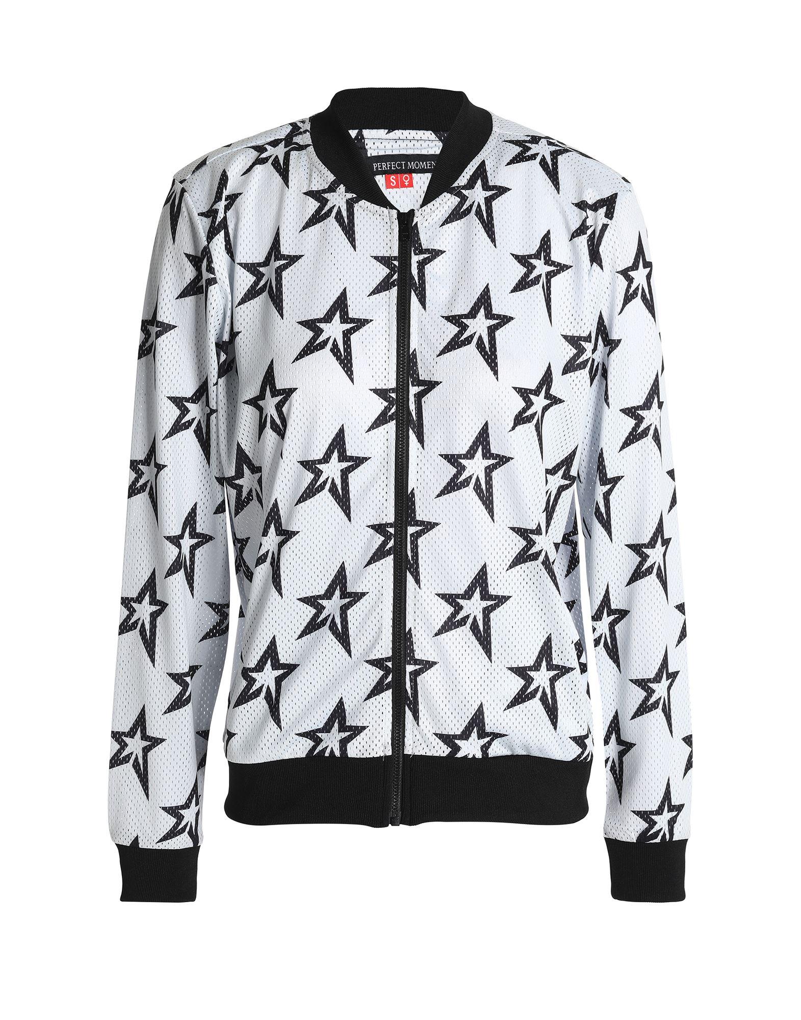 《セール開催中》PERFECT MOMENT レディース スウェットシャツ ライトグレー XS ポリエステル 100%