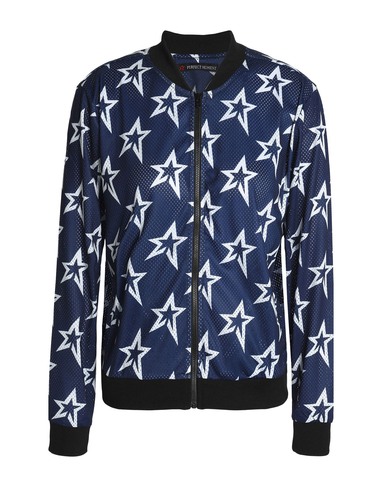 《セール開催中》PERFECT MOMENT レディース スウェットシャツ ダークブルー XS ポリエステル 100%