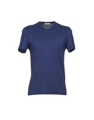 Фото - Женскую футболку PAOLO PECORA синего цвета