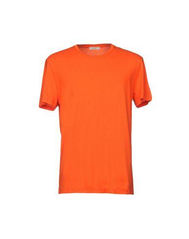 Фото - Женскую футболку PAOLO PECORA оранжевого цвета