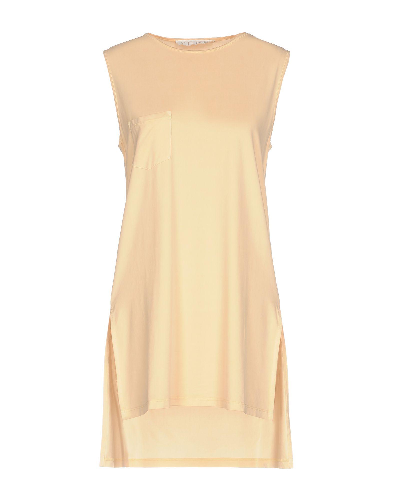 YPNO Топ без рукавов ypno короткое платье