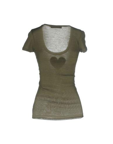 Фото 2 - Женскую футболку TWINSET цвет зеленый-милитари