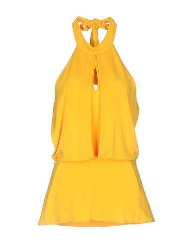 Купить Топ без рукавов желтого цвета